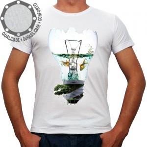 Camiseta Lâmpada Aquário