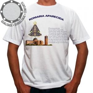 Camiseta Romaria Aparecida com Oração