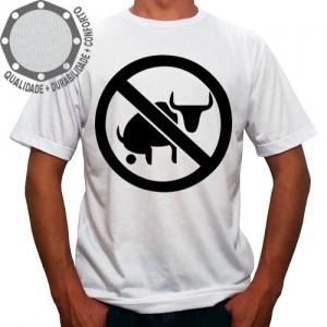 Camiseta Proibido Boi Cagão