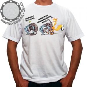 Camiseta Coisas Ruins Ficam Piores