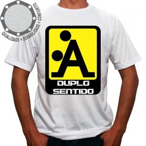 Camiseta Duplo Sentido