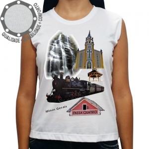 Camiseta Passa Quatro Pontos Turísticos