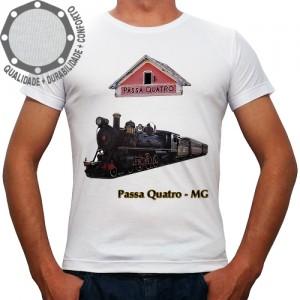 Camiseta Passa Quatro Trem Maria Fumaça