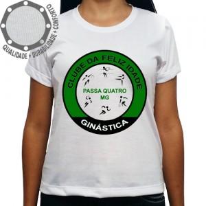 Camiseta Clube da Feliz Idade Ginástica