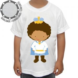Camiseta Príncipe Menino Capa