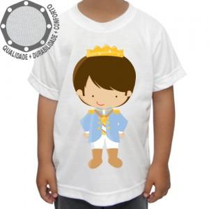 Camiseta Príncipe Menino Pose
