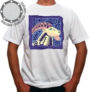 Camiseta Signo Capricórnio Colorido