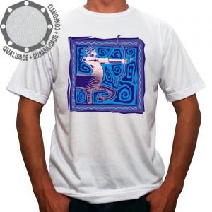 Camiseta Signo Sagitário Colorido