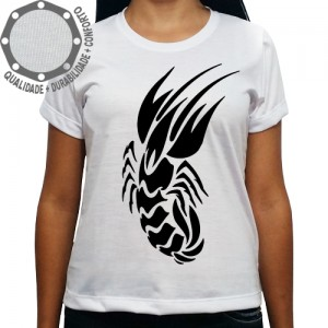 Camiseta Signo Câncer Tribal