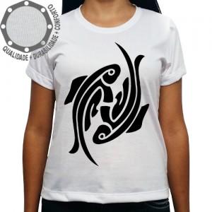 Camiseta Signo Peixes Tribal