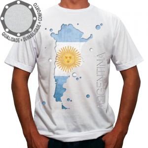 Camiseta Argentina Mapa