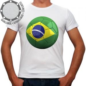 Camiseta Brasil Bola