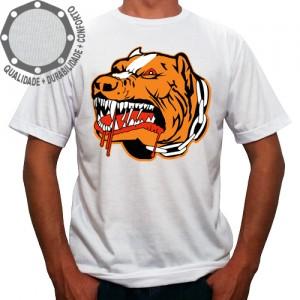 Camiseta Cachorro Pit Bull