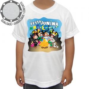 Camiseta Festa Junina Fogueira