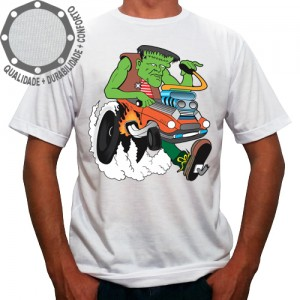 Camiseta Frankenstein Dragster
