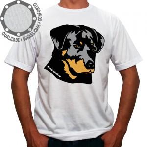 Camiseta Cachorro Rottweller Face Pose