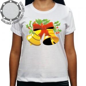 Camiseta Natalina Sinos de Natal