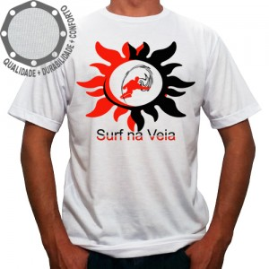 Camiseta Surf Na Veia