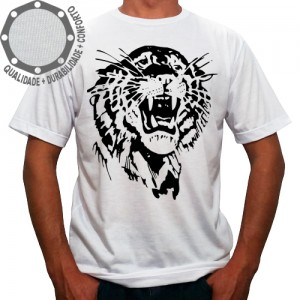 Camiseta Tigre Black Face