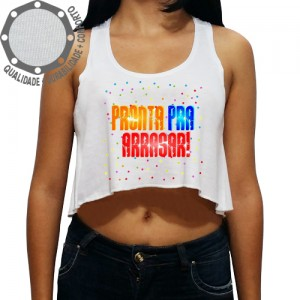 Camiseta Carnaval Pronta Pra Arrasar