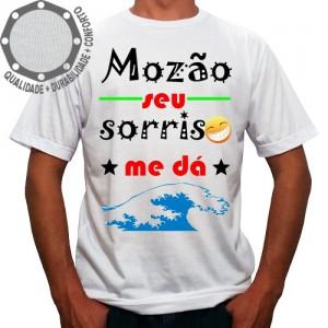Camiseta Carnaval Mozão Seu Sorriso Me Dá