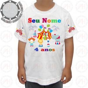 Camiseta Circo Festa e Alegria