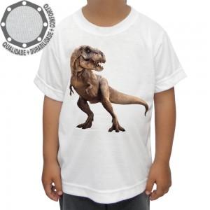Camiseta Dinossauro Tiranossauro Rex