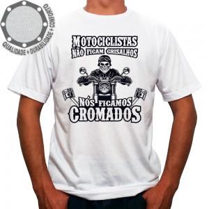Camiseta Motociclistas Cromados