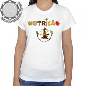 Camiseta Nutrição Símbolo