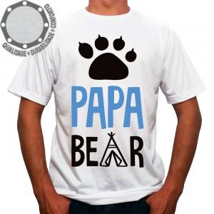Camiseta Papai Urso Papa Bear