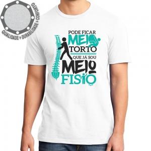 Camiseta Meio Torto Fisioterapia
