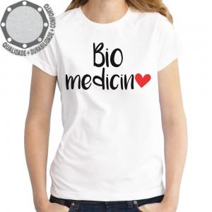 Camiseta Biomedicina Coraçao