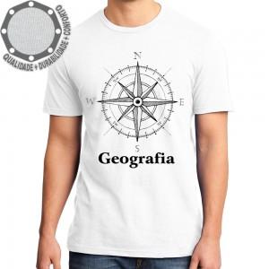 Camiseta Geografia Rosa Dos Ventos