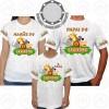 Kit 3 Camisetas Safari