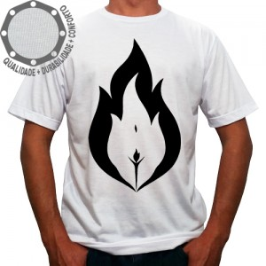 Camiseta Corpo em Chamas