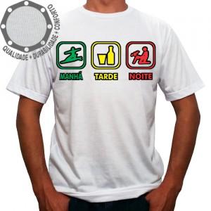 Camiseta Manhã Tarde Noite