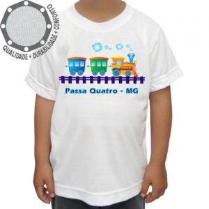 Camiseta Passa Quatro Trenzinho