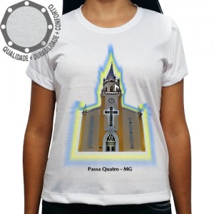 Camiseta Passa Quatro Igreja Matriz