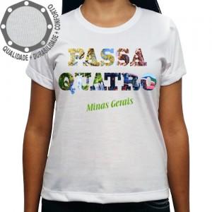 Camiseta Passa Quatro Frase Imagem