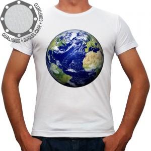 Camiseta O Globo Terrestre