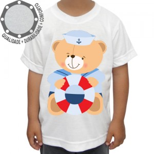 Camiseta Ursinho Marinheiro Pose