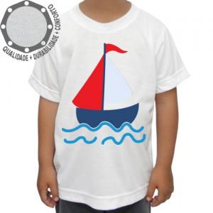 Camiseta Barquinho a Caravela