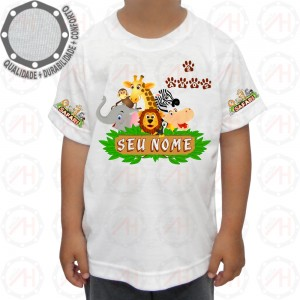 Camiseta Safari Feliz