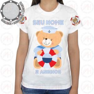 Camiseta Ursinho Marinheiro Boia
