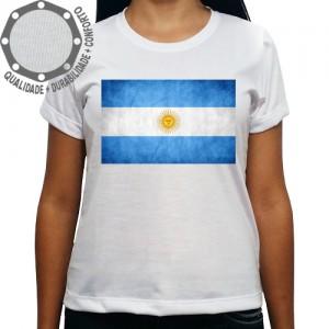 Camiseta Argentina Bandeira