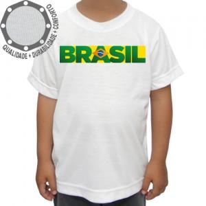 Camiseta Brasil Frase