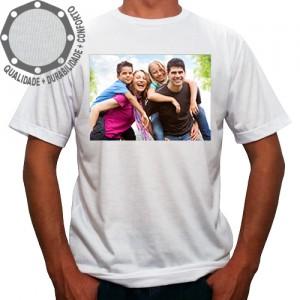 Camiseta Com Sua Foto