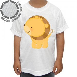 Camiseta Leão Mini