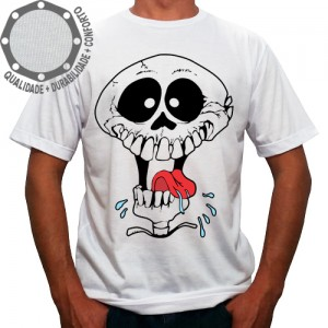 Camiseta Caveira Loka