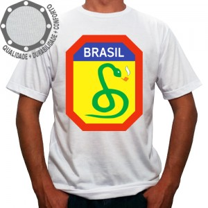 Camiseta Brasil Cobra Fumando
